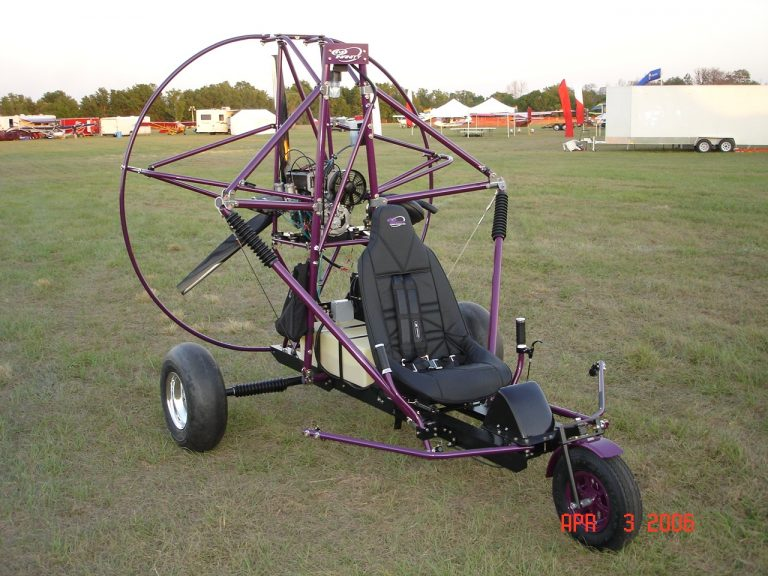 Infinity PPC Commander single seat purple chassis